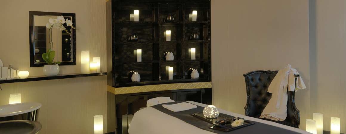 Luxury Treatment room at Softouch Spa - Damac Maison Mall Street Dubai