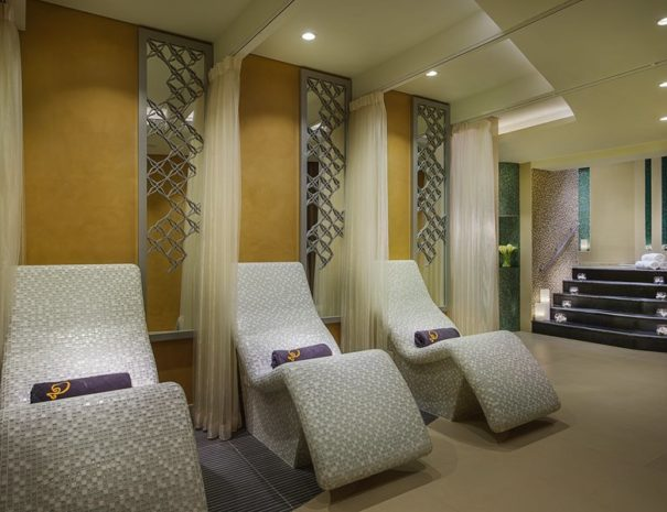 Relaxation Area at the Softouch Spa Damac Maison Royale Distinction Dubai
